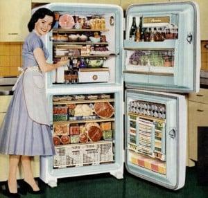 παλιό ψυγείο αμανα