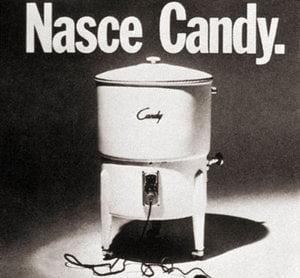 πλυντήριο ρούχων Candy το 1945